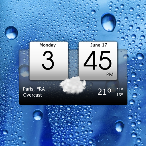 Digital clock & world weather APK Cracked Download