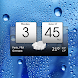 Digital clock & world weather image