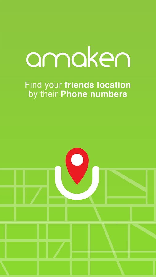Amaken - Phone locator on map: captura de pantalla