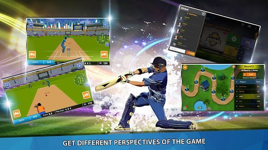 CricAstics 3D Multiplayer Cricket Game- screenshot thumbnail