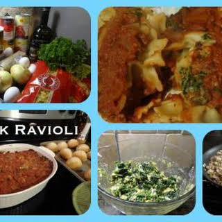 Mock Ravioli.