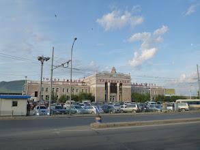 Photo: Hlavní Ulanbátarské vlakové nádraží
