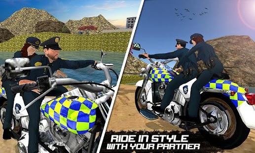 OffRoad Polis Bisikleti Ulaşım Ekran Görüntüsü