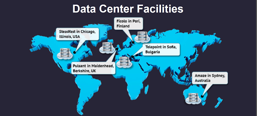 Somosotech Hosting Service Data Center Locations