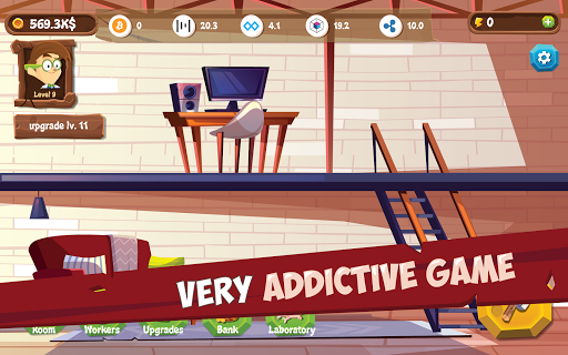 Mining Simulator - Idle Clicker Tycoon apktram screenshots 1