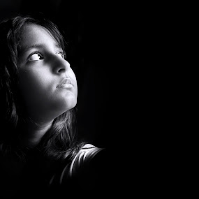 The Enlightened-I by Oms Datum Photography - Babies & Children Children Candids ( girl, black and white )