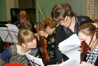 Photo: Подготовка к генеральной репетиции и концерту.