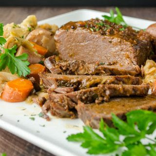 Corned Beef and Cabbage (Slow Cooker or Pressure Cooker).