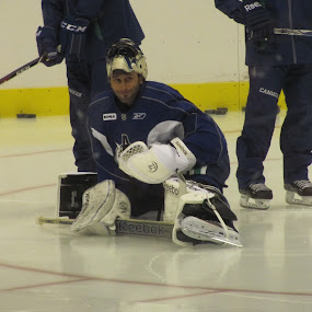 Roberto Luongo 0f Vancouver Canucks by Manny Tovim - Sports & Fitness Ice hockey