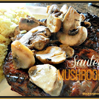 Simple Sauteed Mushrooms