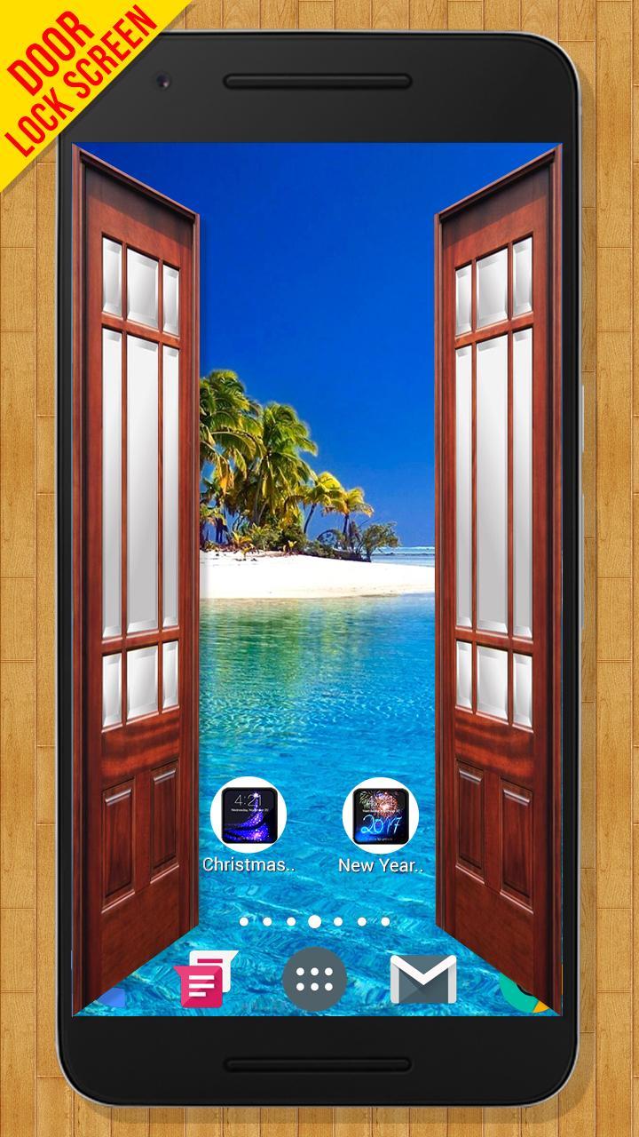 Скриншот Door Lock Screen