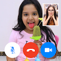 Video call with Shfa - fake chat icon