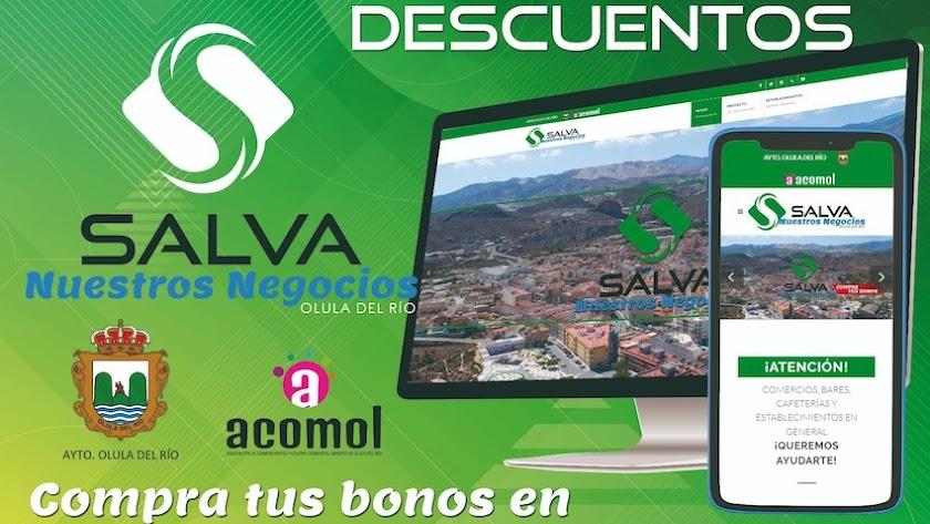 Imagen promocional de la campaña \'Salva nuestros negocios\'.