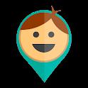 MaPaMap kid's phone GPS watch tracker icon