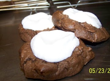 Chocolate Fluffernutter Cookies Recipe