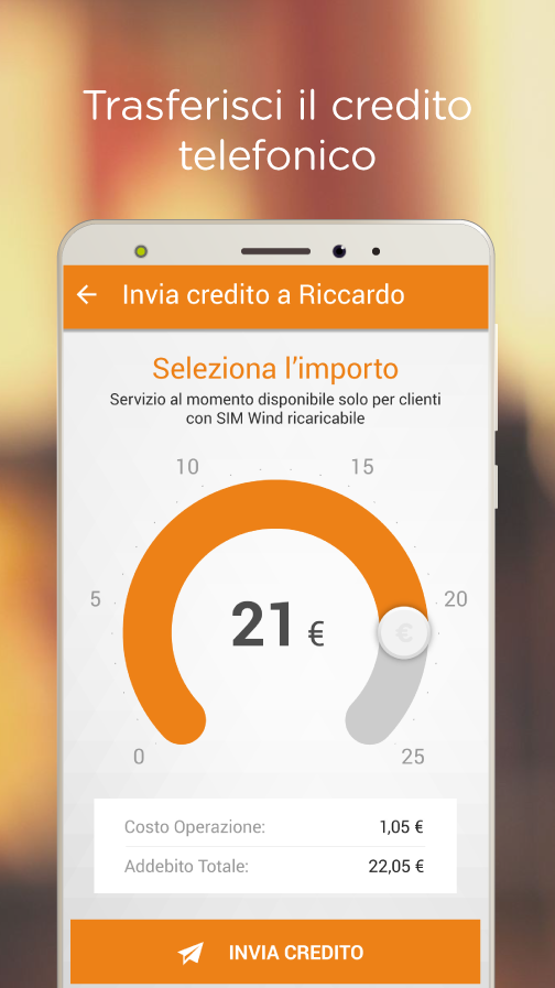 Wind Talk (App ufficiale Wind)- screenshot