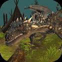 Storm Dragon Simulator 3D icon