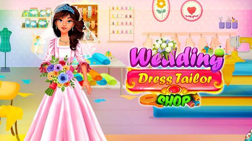 Wedding Dress Tailor Shop: Design Bridal Clothes 1.0.6 screenshots 1