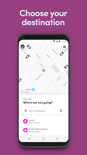 Lyft 5.77.3.1556107512 screenshots 1