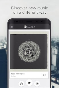 Scala for Spotify - Discover new music Screenshot