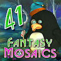 Fantasy Mosaics 41: Wizard's Realm icon