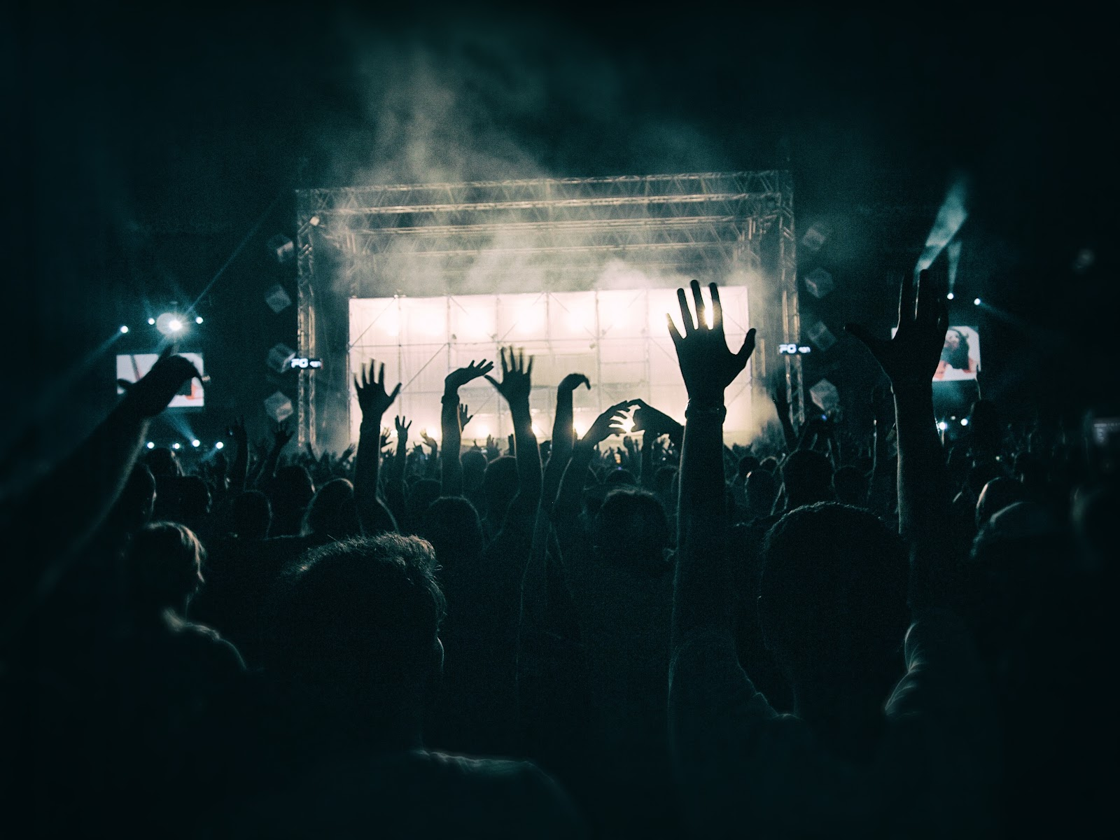 how to connect with your audience for example at a music festival