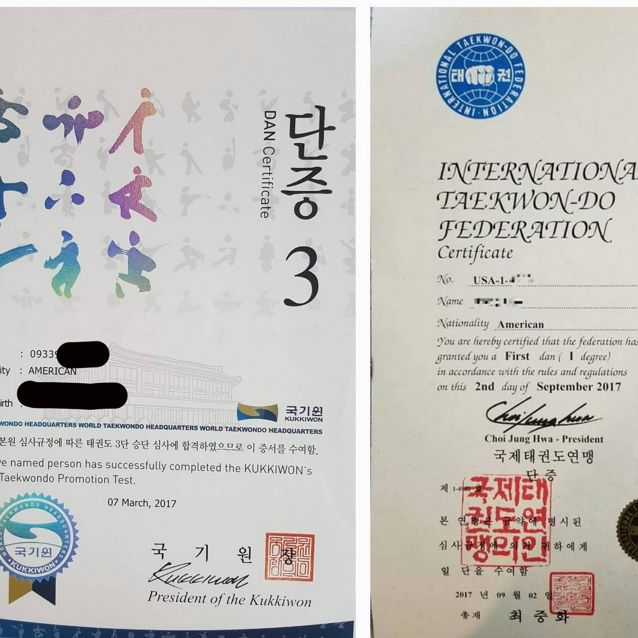 School Of Taekwon Do Promotion Training Center Taekwon Do School