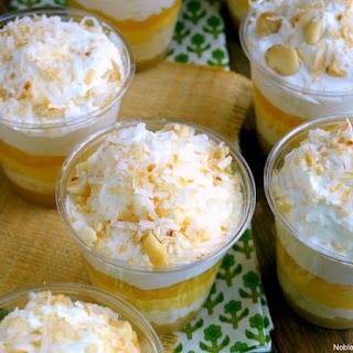 No-Bake Hawaiian Dream Dessert Cups.