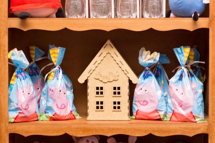 lembrancinhas de aniversário tema Peppa Pig
