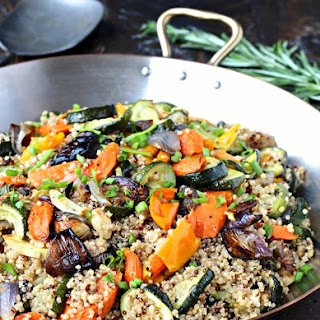 Quinoa with Roasted Vegetables Recipe