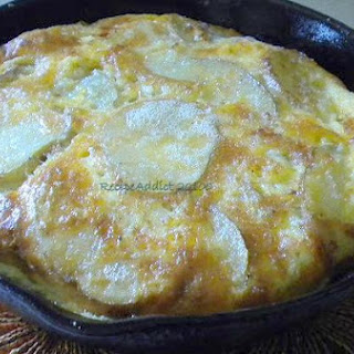 Spanish Potato Omelette.