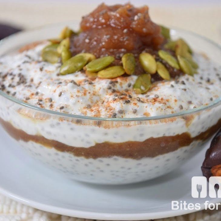 Chia Seed Pudding with Date Paste