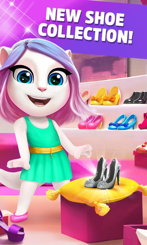 My Talking Angela Mod Apk (Unlimited Coins) 3.9.2.170 Latest Version 5