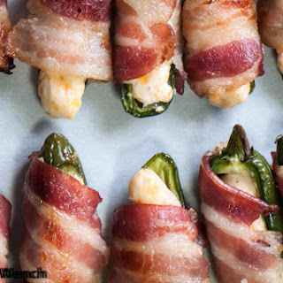 Jalapeno Poppers With Bacon.