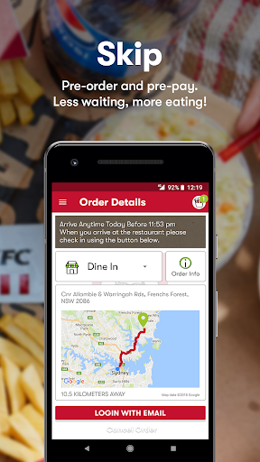 KFC - Order On The Go  screenshots 3