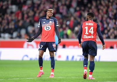 Lille rend un très bel hommage à Victor Osimhen