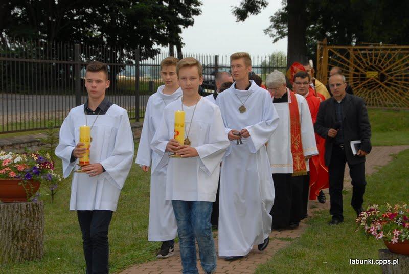 Photo: Wielkopiatkowy Krzyż Papieski w 25 - lecie diecezji Zam.Lub.