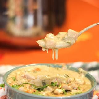 Poblano Chicken Soup.