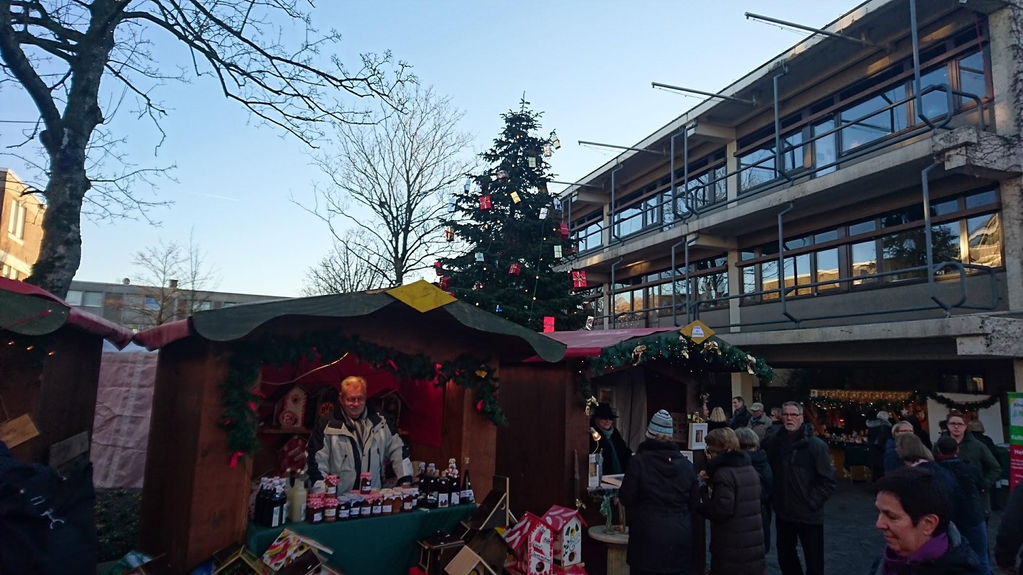 Spekulatiusmarkt Büttgen 2016 Weihnachtsbaum