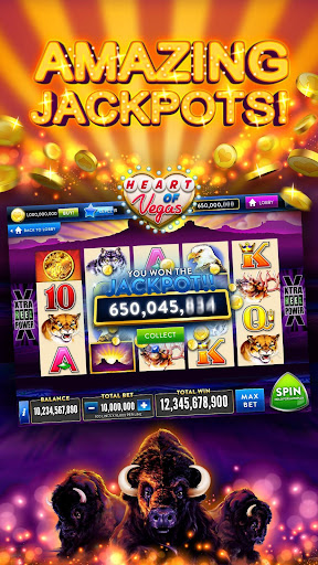 Heart of Vegasu2122 Slots u2013 Free Slot Casino Games  screenshots 1