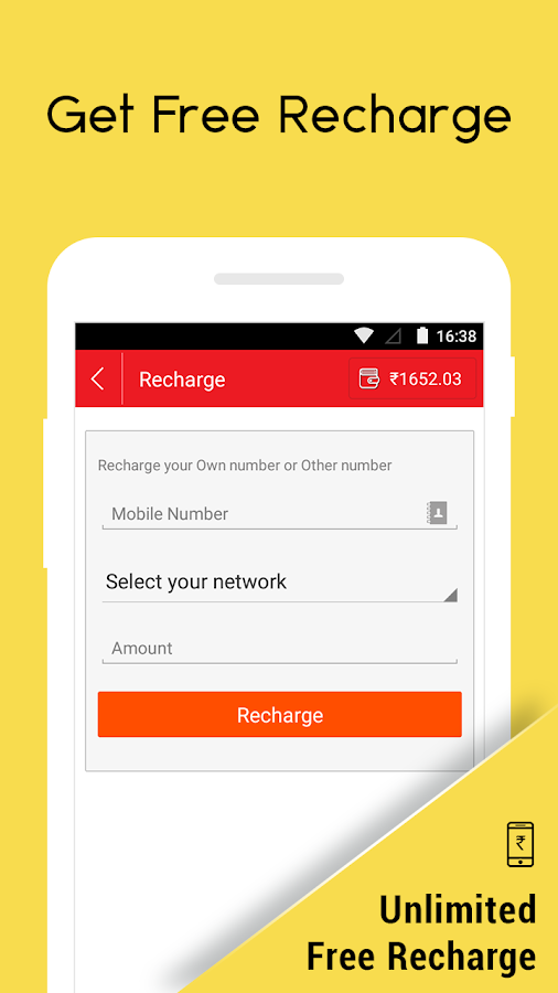 Earn Free Recharge CashNinja- screenshot