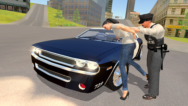 Police Chase - The Cop Car Driver APK screenshot thumbnail 1