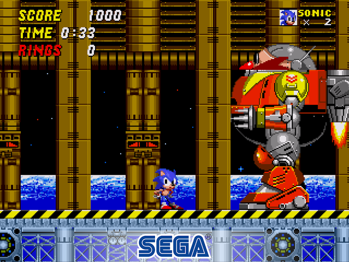 Sonic The Hedgehog 2 Classic – Capture d'écran