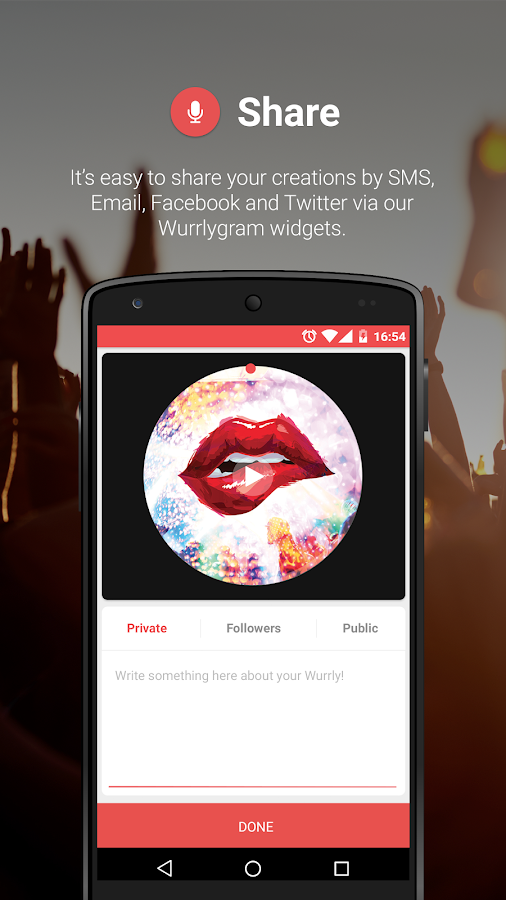 Wurrly: It's more than Karaoke- screenshot
