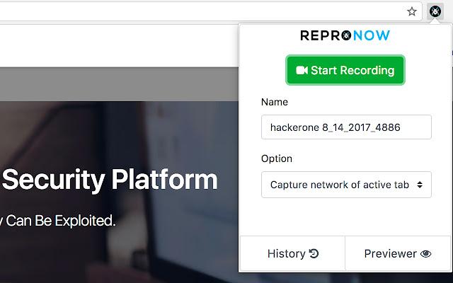 ReproNow: Capture Screen + Network