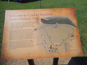 Photo: Caddo Mounds site orientation