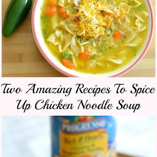 Mexican Tortilla Chicken Noodle Soup