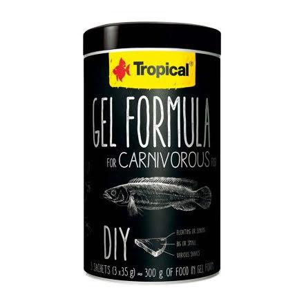 Tropical Gel Formula Carnivore 1000ml/105g 3x35g