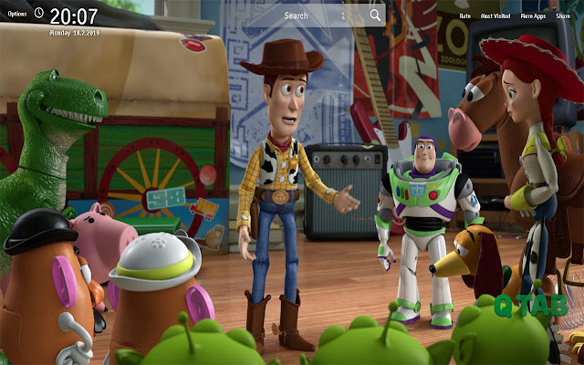 Toy Story 3 Wallpapers Theme Anime New Tab