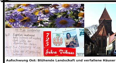 Photo: Impressionen aus der ehemals schönen Kleinstadt Tribsees in Vorpommern an der Grenze zu Mecklenburg
